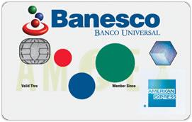 Tarjeta de Crédito Banesco American Express
