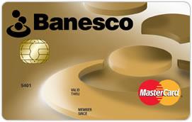 Tarjeta de Crédito Banesco MasterCard Dorada