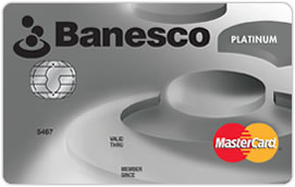 Tarjeta de Crédito Banesco MasterCard Platinum