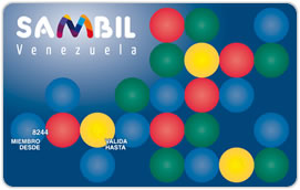Tarjeta de Crédito Sambil