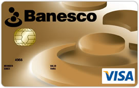 Tarjeta de Crédito Banesco Visa Dorada