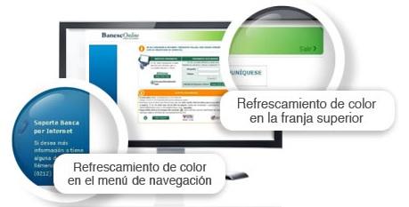 Banesco refrescó el diseño de BanescOnline