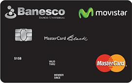 Tarjeta Banesco Movistar Black