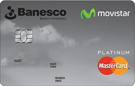 Tarjeta Banesco Movistar Platinum