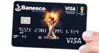 Tarjeta de crédito Banesco Visa Copa Mundial de la FIFATM